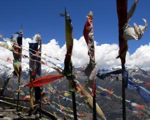 nepal Annapurna Conservation Area 42 Braga Milarepa Cave