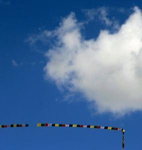 nepal Annapurna Conservation Area 47d Manang Prayer Flag