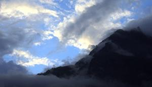 nepal annapurna sunset2