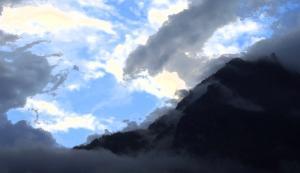 nepal annapurna sunset2 filter