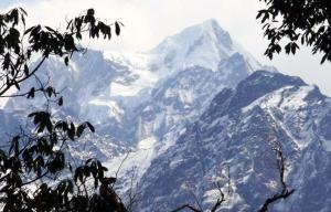 nepal bergspitzeundaeste