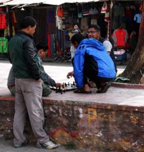 nepal schachspieler